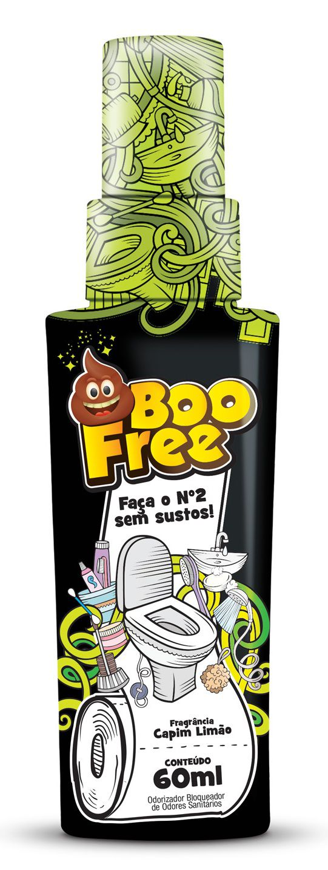 BooFree Capim Limão 60mL