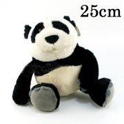 Urso de Pelúcia Panda Nici 25cm - Ursinho pequeno para decoração presente namorada dia das mães festa eventos artesanato enfeite