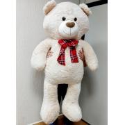 Urso de Pelúcia Ravy Gigante Grande 1,50 metros ou 150cm de altura presente ideal para namorada namorados aniversário festa decoração eventos