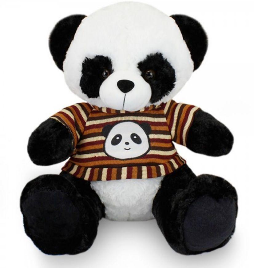 Amigo Urso de Pelúcia Panda 50cm Dengo Pandoo com Roupinha Casado Ursinho para decoração presente namorada natal ano novo amigo secreto festa eventos artesanato enfeite
