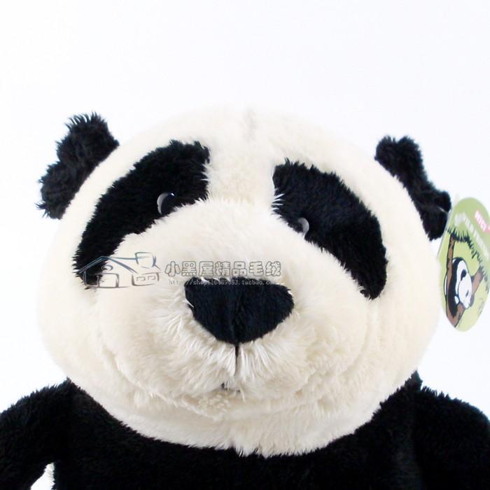 Casal de Ursos de Pelúcia Panda Nici Pai 25cm + Mamãe 25cm com Filhote 8cm Ursinhos para decoração presente namorados dia das mães festa eventos artesanato enfeite