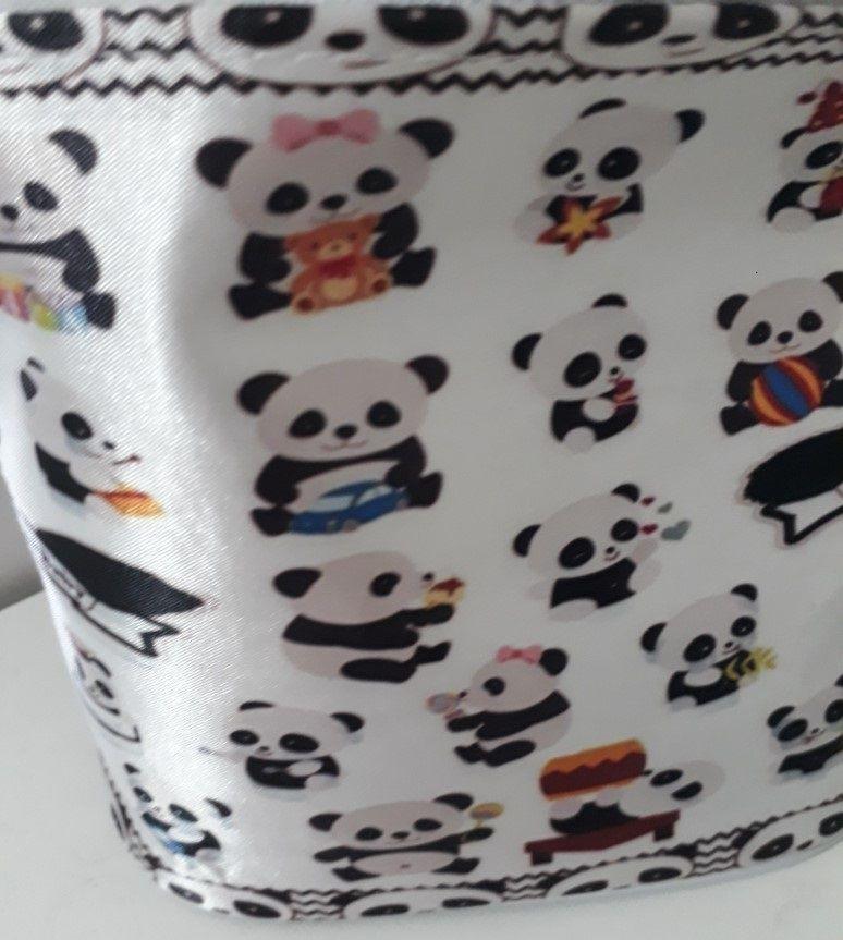 Kit Produtos Urso Panda para Saída da Maternidade para Bebês Neném com 6 peças Ótimo para presentear a chegada do bebê! As mães adoram!