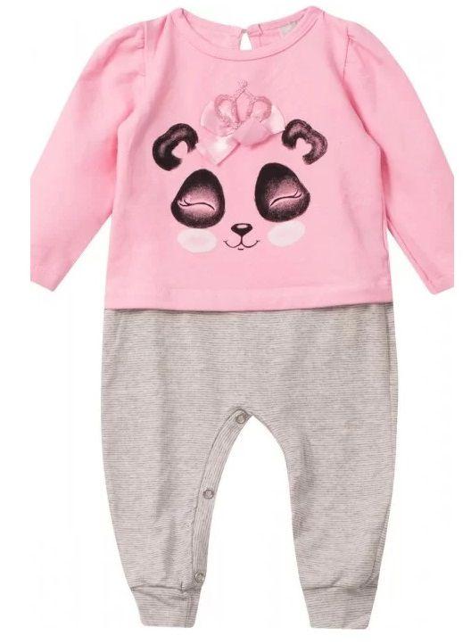 Macaquinho Bebê Urso Panda Infantil Tamanho 3 a 6 meses Roupa Ursinho MoleCotton Algodão Super Macio -  Mimos para Neném Menina