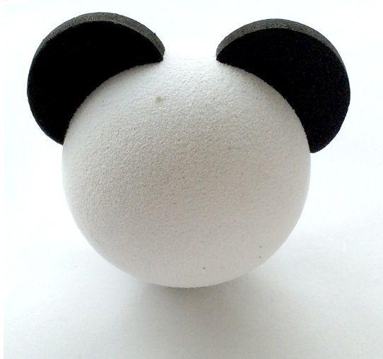 Protetor Antena de Carro estilo Panda Acessório Material de Espuma de ar EVA