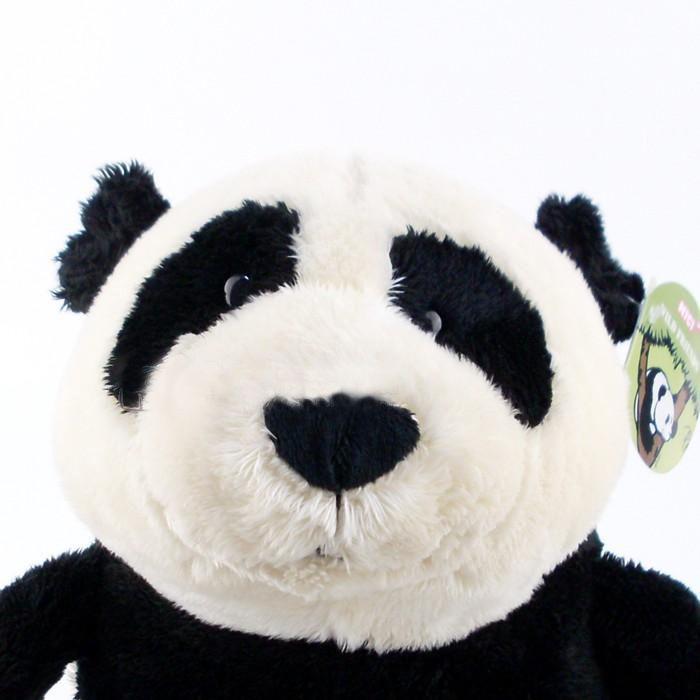 Urso de Pelúcia Panda Nici 50cm de Pé Ursinho para decoração presente namorada natal ano novo amigo secreto festa eventos artesanato enfeite