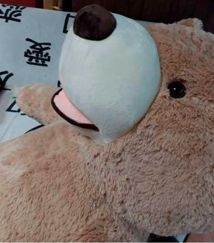 Urso de Pelúcia Pardo Gigante Grande 1,60 metros ou 160cm de altura presente aniversário namorada