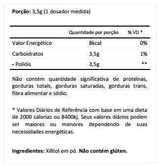 100% Natural Xylitol 300g Atlhetica Nutrition  - Vitta Gold