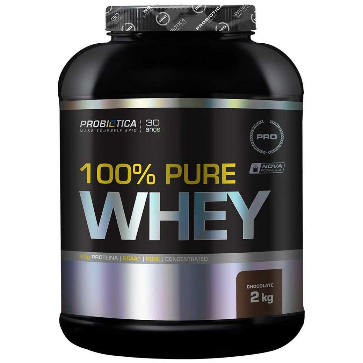 100% Pure Whey Protein 2kg Probiótica