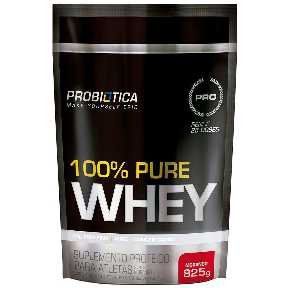 100% Pure Whey Refil 825g Probiótica