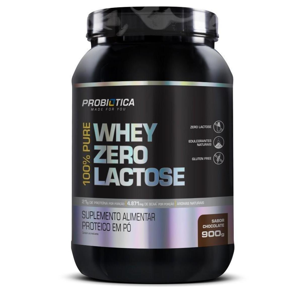 100% Pure Whey Zero Lactose 900g - Probiotica