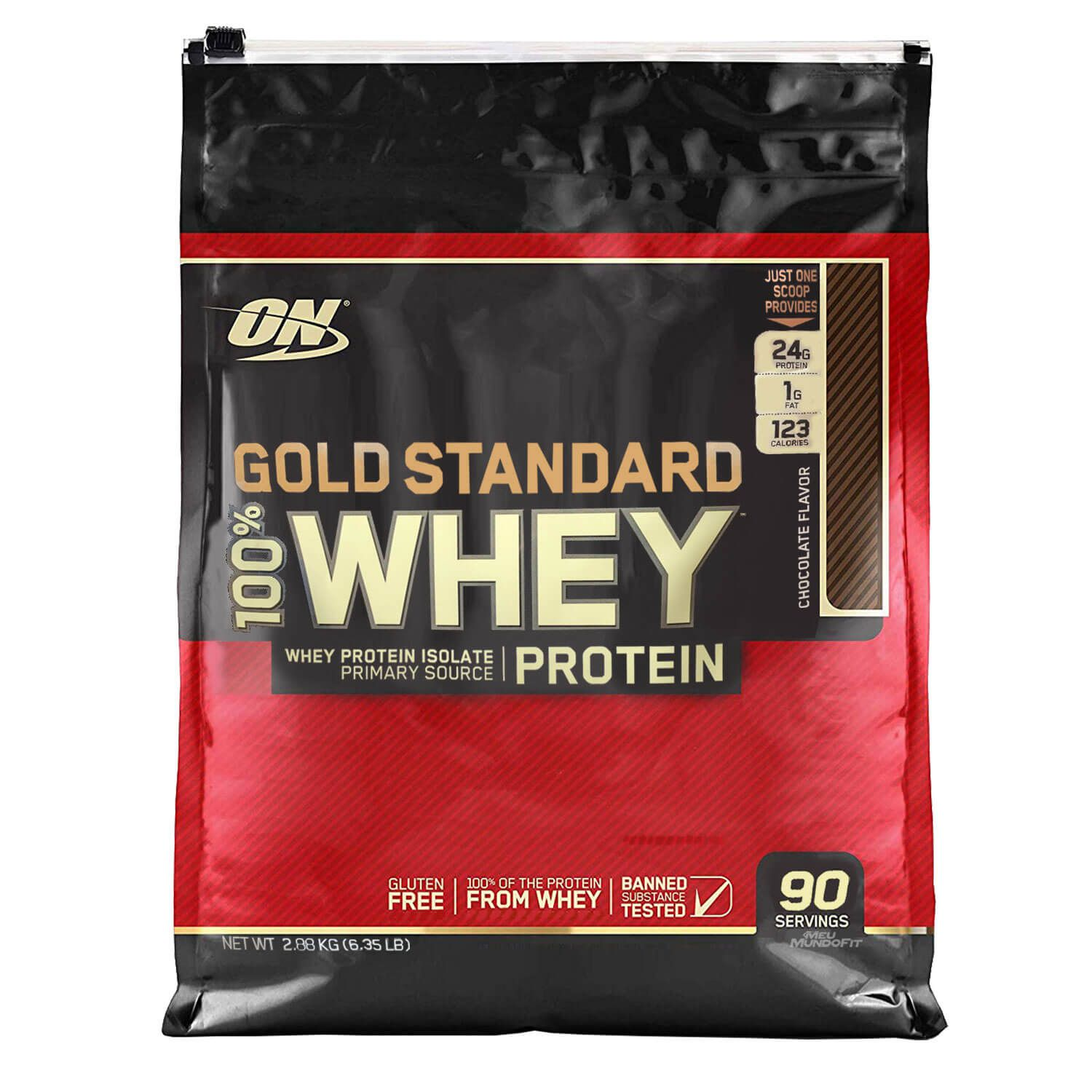 100% Whey Gold Standard 2,88kg Optimum Nutrition  - Vitta Gold