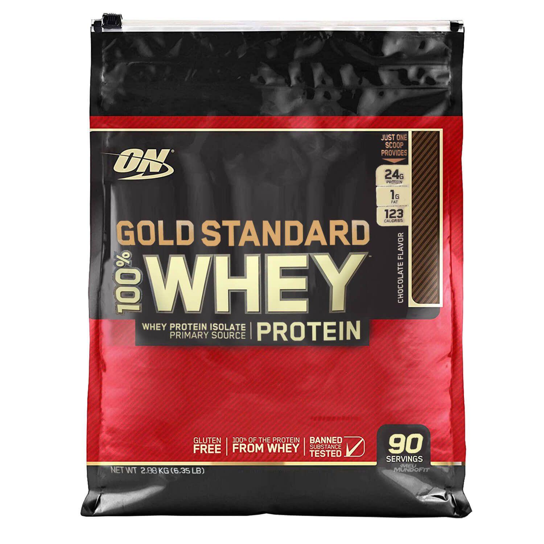 100% Whey Gold Standard 2,88kg Optimum Nutrition