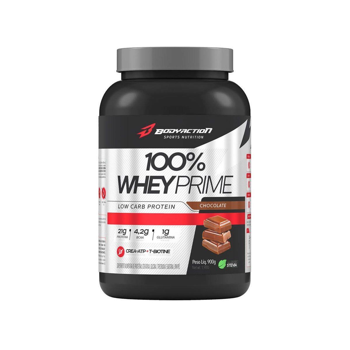 100% Whey Prime 900g Bodyaction