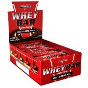 Caixa Whey Bar 40g 24 Unidades Integralmédica