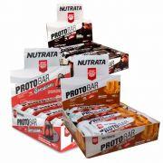 Combo 3x Caixa Protobar com 8 unidades Nutrata