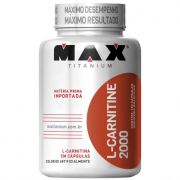 L-Carnitine 2000 120 Cápsulas Max Titanium