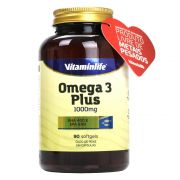 Ômega 3 Plus 90 Cápsulas Vitaminlife
