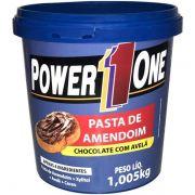 Pasta de Amendoim Chocolate com Avelã 1,05kg Power1One