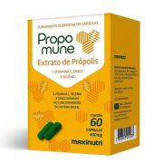 Propomune 60 Caps (Ext. PrÓPolis + Vit.C E Zinco) - Maxinutri