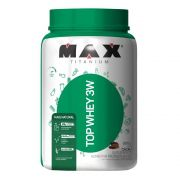 Top Whey 3W Mais Natural 900g Max Titanium