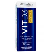 Vitamina D3 Gotas 60ml Atlhetica Nutrition