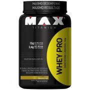 Whey PRO Pote 1kg Max Titanium