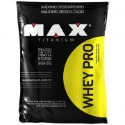 Whey PRO Refil 1,5kg Max Titanium
