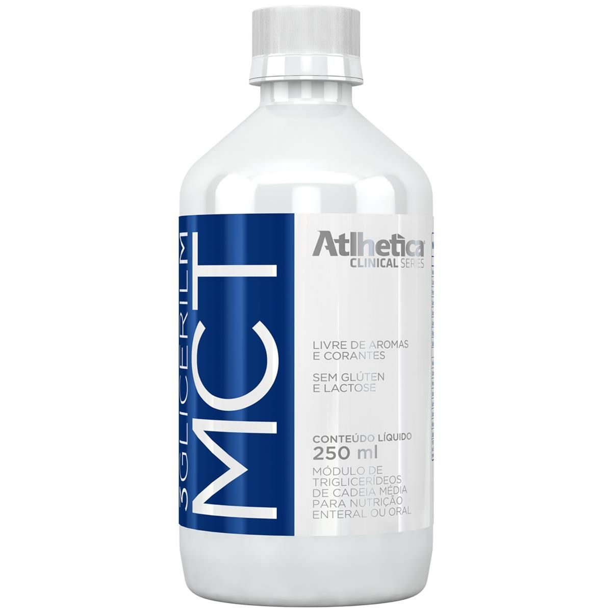 3 Gliceril MCT 250ml Atlhetica Nutrition