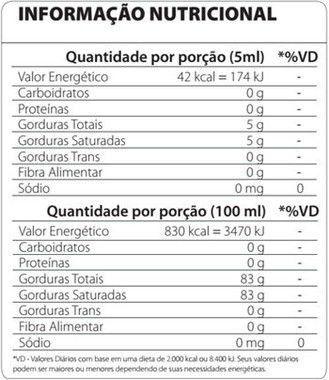 3 Gliceril MCT 250ml Atlhetica Nutrition  - Vitta Gold