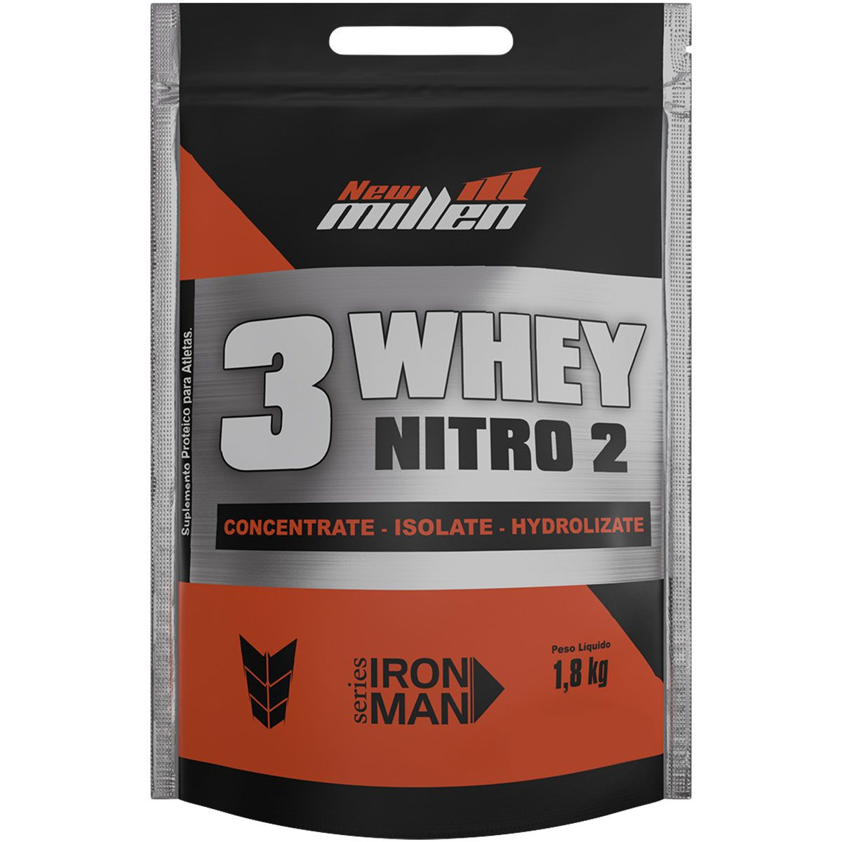3 Whey Nitro2 1,8kg New Millen