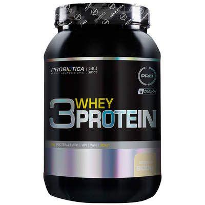 3 Whey Protein 900g Probiótica  - Vitta Gold