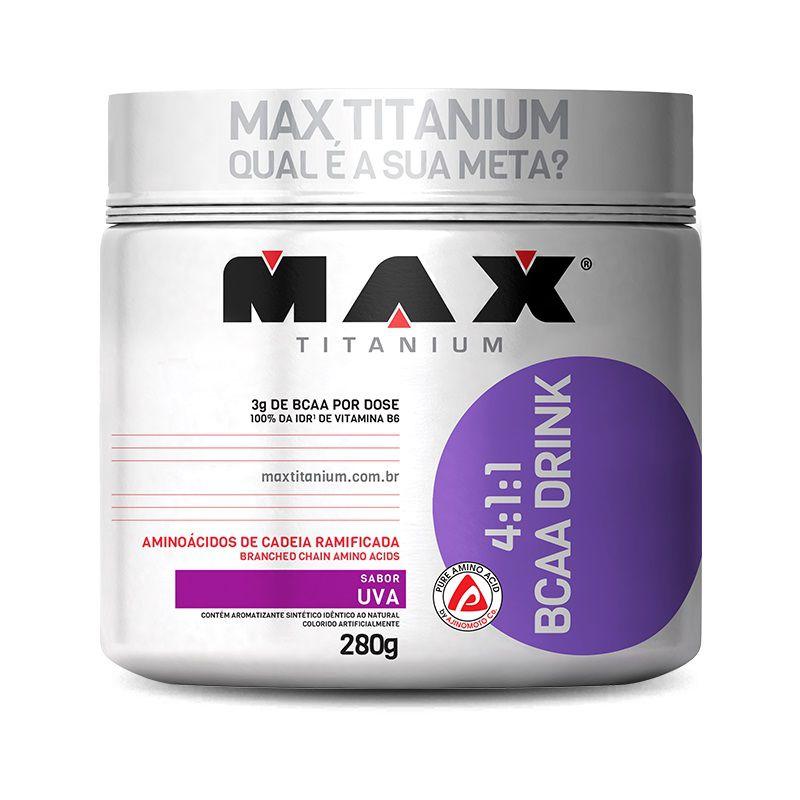 4:1:1 BCAA Drink 280g Max Titanium
