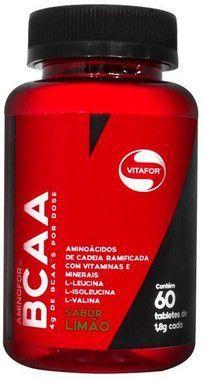 Aminofor BCAA 60 Tabletes Vitafor  - Vitta Gold