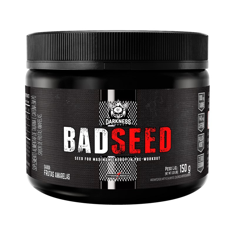 Pré Treino Bad Seed Integralmedica 150g - Darkness