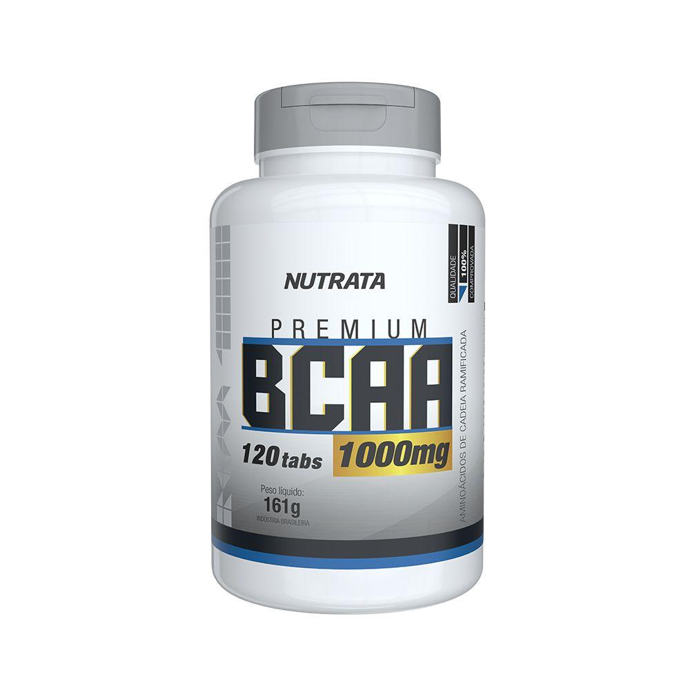BCAA 1g 120 Tabletes Nutrata