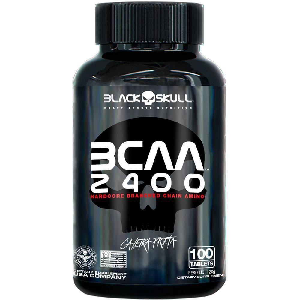 BCAA 2400 (100 Tabletes) Black Skull