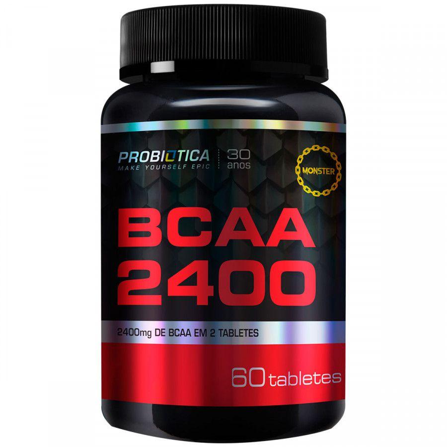 BCAA 2400mg 60 Tabletes Probiótica