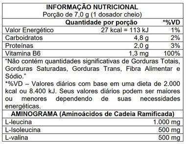 BCAA 2:1:1 210g Atlhetica Nutrition  - Vitta Gold