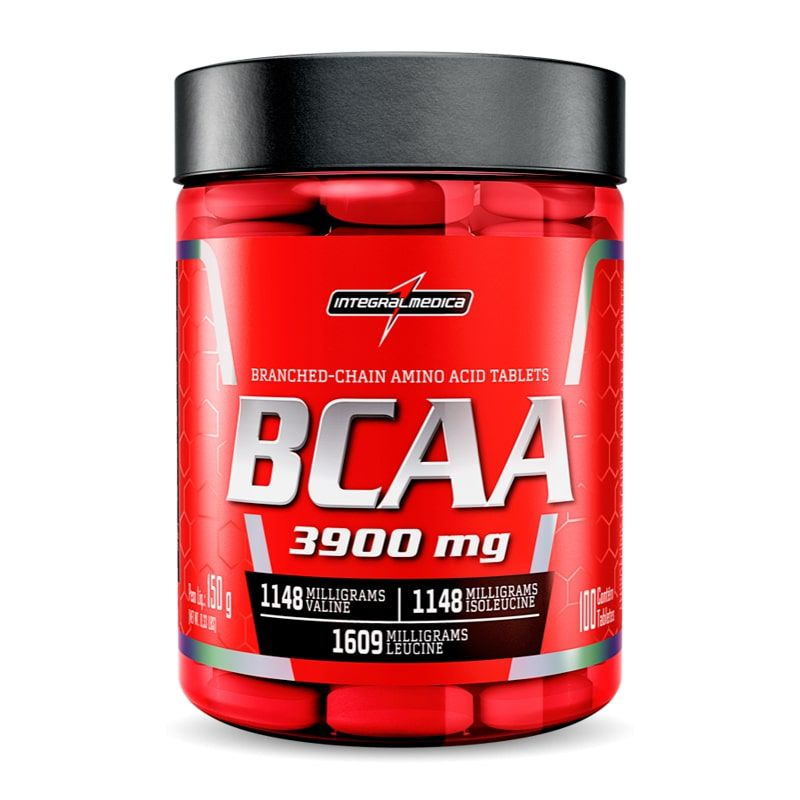 BCAA 3900mg 100 Tabletes Integralmédica