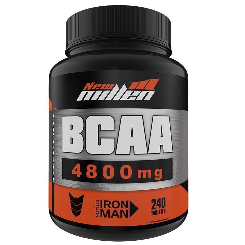 BCAA 4800mg 240 Tabletes New Millen  - Vitta Gold