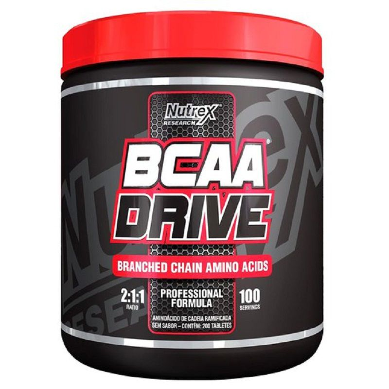 BCAA Drive 200 tabletes Nutrex  - Vitta Gold