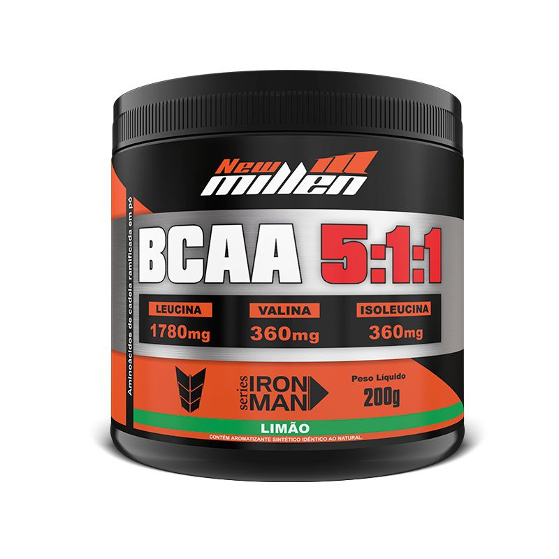 BCAA Instant Powder 5:1:1 200g New Millen  - Vitta Gold