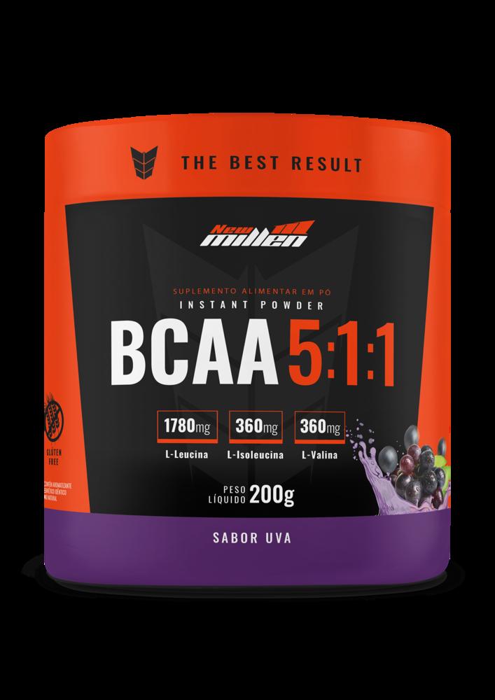 BCAA Instant Powder 5:1:1 200g New Millen