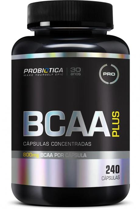 BCAA PLUS 800mg 240CAPS - PROBIÓTICA