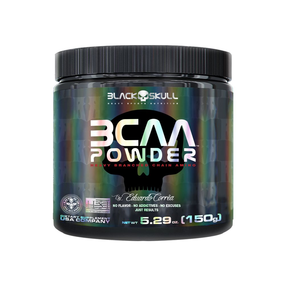 BCAA Powder 150g Black Skull