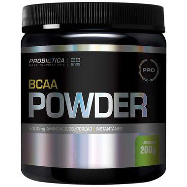 BCAA Powder 200g Probiótica  - Vitta Gold