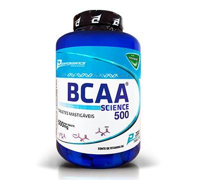 BCAA Science 500 200 Tabletes Performance Nutrition  - Vitta Gold