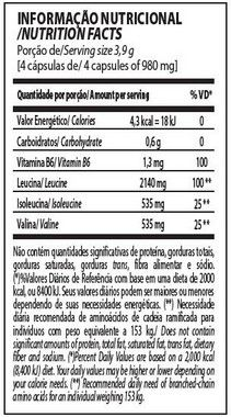 BCAA Top 4:1:1 240 Cápsulas Integralmédica  - Vitta Gold