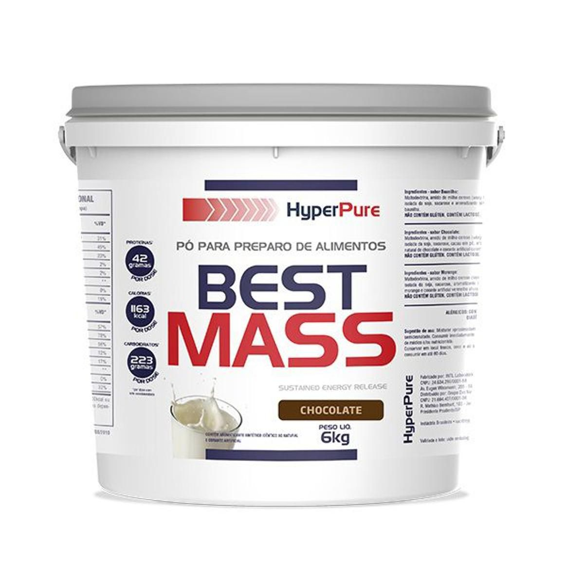 Best Mass 6kg Hyper Pure  - Vitta Gold