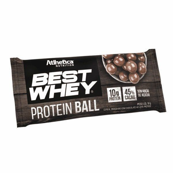 Best Whey Protein Ball 50g Atlhetica Nutrition  - Vitta Gold
